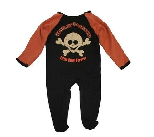 Harley Davidson Baby Clothes Boys Infant Coveralls