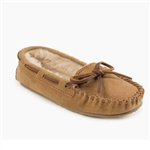 Minnetonka Girls Cinnamon Moccasin Slippers: Cassie