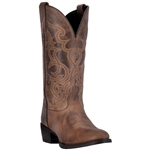 Laredo Women's Brown Leather Western Boots