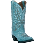 Laredo Women's Cowgirl Boots: Sofia Turquoise