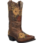 Laredo Women's Kendra Leather Cowgirl Boots