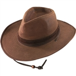 Oil Cloth Western Hats - Henschel Water Resistant Walker