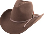 Henschel Wool Cowboy Hats: Pecan Brown