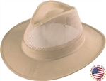 Men's Western Hats - Henschel Crushable Hiker Mesh Breezer