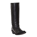 Laredo Ladies Leather Western Boots: Side Zip