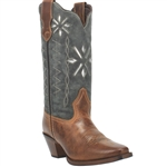 Laredo Women's Leather Cowgirl Boots, Passion Flower