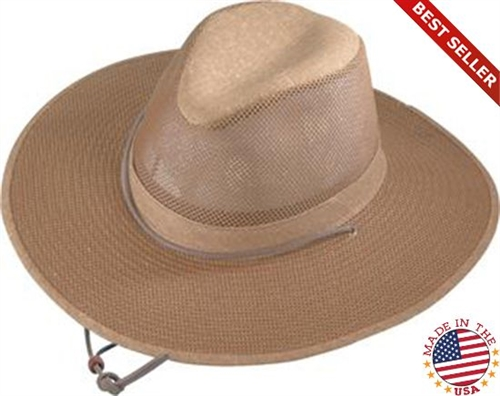 b7380e27142f6 Henschel Aussie Packable Breezer Cowboy Hat - Leather Bound Online