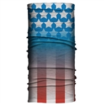 USA Flag Tube Neck Gator Tube (10 Ways To Wear)