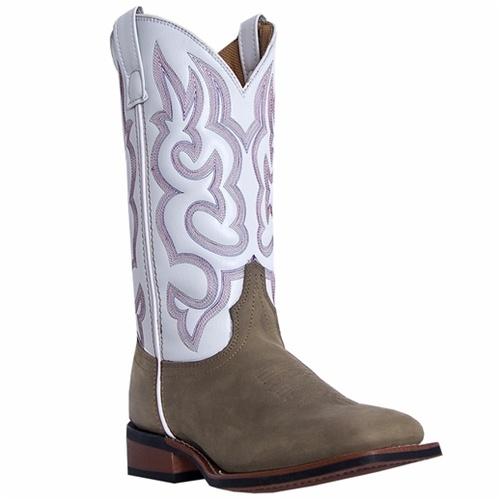 b8bcd223611 Laredo Mesquite White Women's Western Boot