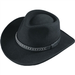 Henschel Black Wool Cowboy Hats