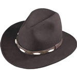 Henschel Cowboy Hats - Brown Wool Aussie