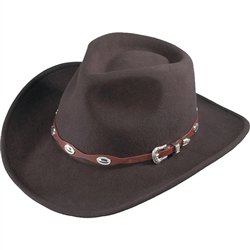 Brown Wool Cowboy Hats: Henschel Outback