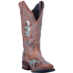 Laredo Women's Brown Leather Cowgirl Approved Boots