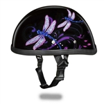 Premium Novelty Motorcycle Helmet: Dragon Fly