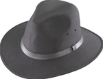 Henschel Black Waterproof Safari Hats
