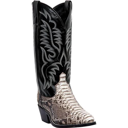 7b4edf5898b Laredo Python Snake Skin Western Boot
