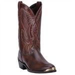 Laredo Mens Antique Tan Lizard Print Cowboy Boot