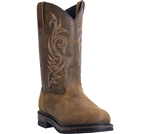 Laredo Waterproof Leather Men's Cowboy Boots