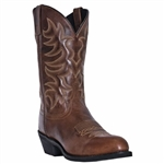 Laredo Brown Mens Leather Cowboy Boots