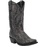 Laredo Mens Leather Western Boots: Garrett Gray