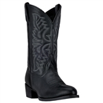 Laredo Men's Cowboy Boots - Black Leather