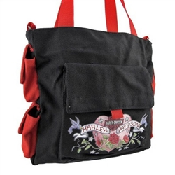 Harley-Davidson Canvas Tote Purse