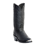 Laredo Mens Black Trucker Western Boot