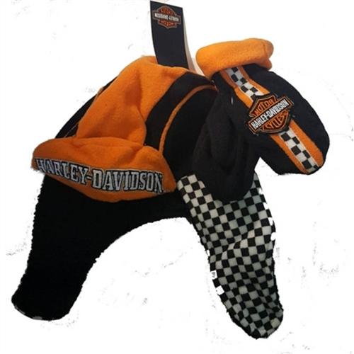 c71d7f29440 Harley-Davidson Baby Fleece Winter Hat   Mittens