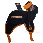 Harley-Davidson Toddler Boy Winter Hat & Mittens Gift Set