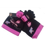 Harley-Davidson Girls Winter Hat, Gloves & Scarf