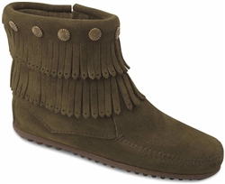 Minnetonka Loden Boot 695F - Double Fringe