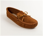 Men's Minnetonka Moccasins - Leather Soft Sole
