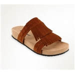 "Minnetonka Sandals - Brown Fringe ""Daisy Sandal"