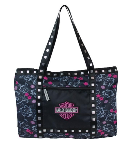 Girl S Harley Davidson Travel Tote Bag Leather Bound Online