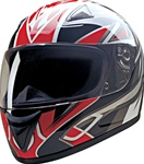 Red Blade Full Face Motorcycle Helmets