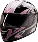 Ladies Motorcycle Helmets - Pink Blade Full Face