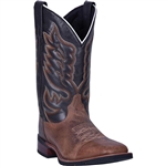 Laredo Montana Leather Western Boots: Cowboy Approved