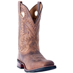 Laredo Mens Leather Cowboy Approved Boots