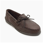 Mens Minnetonka Moccasin: Brown Moosehide