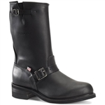 Carolina Work Boots - 12'' Black Engineer Men's