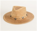 Minnetonka Leather Western Hat - Buffalo Nickel
