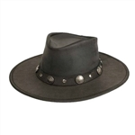 Minnetonka Buffalo Nickel Black Western Hat