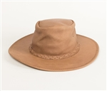 Leather Cowboy Hats: Minnetonka Smokey Tan Western Hat