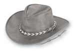 "Minnetonka ""Fold Up""  Leather Cowboy Hat"