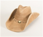 Leather Cowboy Hats - Minnetonka Silverton Dude Hat