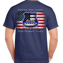 Thin Blue Line Shirts: Blue Lives Matter