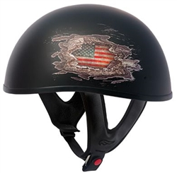 Fulmer Quot United Quot Half Motorcycle Helmet 15 Sale