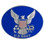 Biker Belt Buckles: US Navy Logo