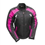 Ladies Atrox Textile Waterproof Armored Jacket