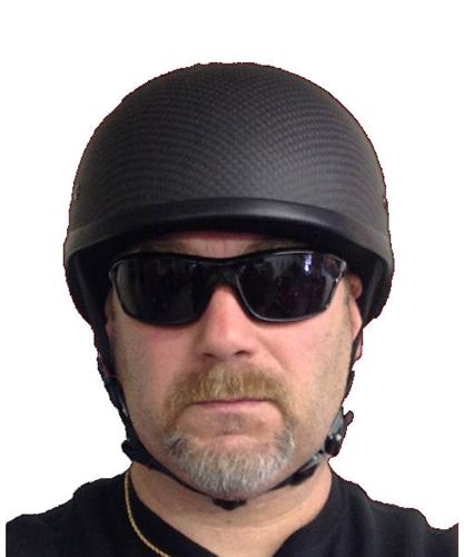 Badass Carbon Fiber Helmet Smallest Dot Beanie